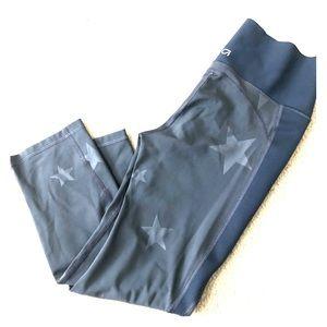 Gapfit sculpt compression cropped gray leggings